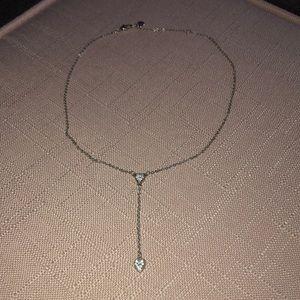 Brighton Heart Crystal Y-Neck Necklace